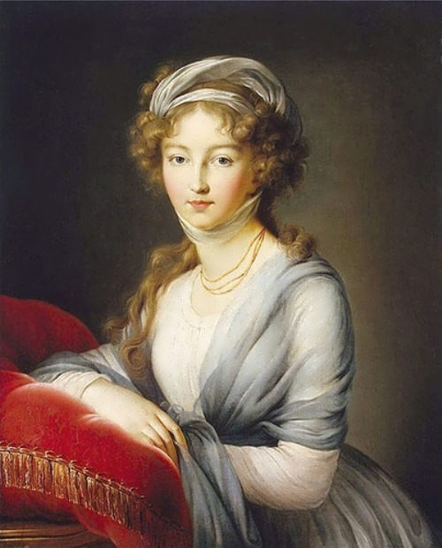 Empress Elizabeth Alexeievna of Russia
