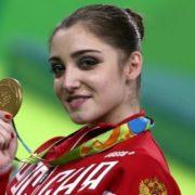 Aliya Mustafina, Olympic Gold Medalist