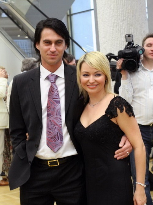 Katya and her husband Igor Kuznetsov