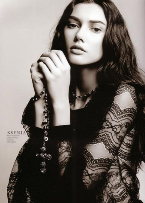 Kahnovich Xenia Russian fashion model