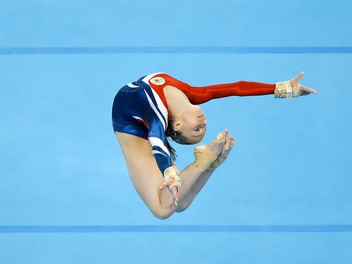 Semenova Ksenia gymnast