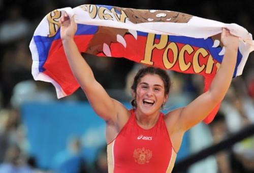 Vorobyeva Natalia wrestling