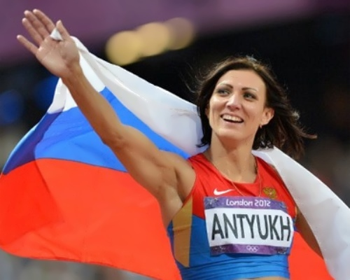 Nataliya Antyukh, Russian athlete - Olympic Champion