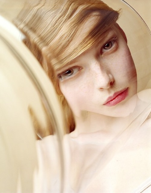 Polina - Russian fashion model