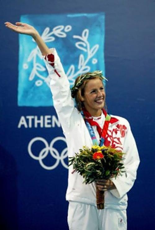 Komarova Stanislava swimmer