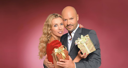 Svetlana and her husband Fyodor Bondarchuk