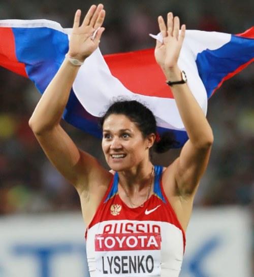 Lysenko Tatiana hammer thrower