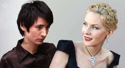 Zemfira and Renata Litvinova