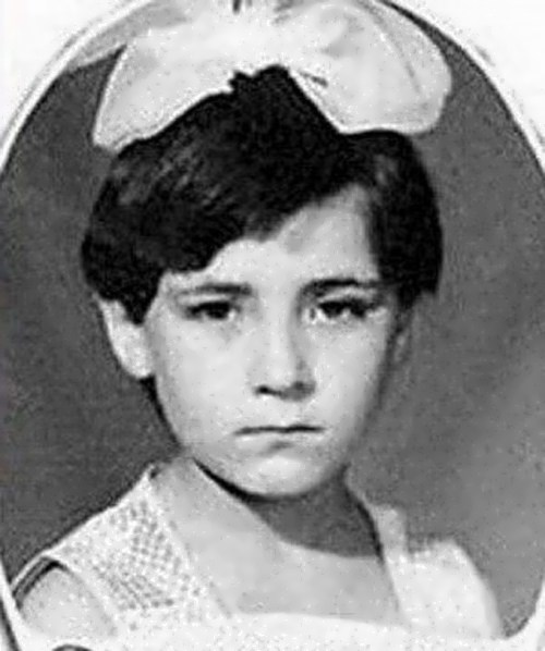 Zemfira in her childhood