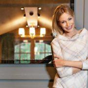 Tatiana Zavialova, model and TV presenter
