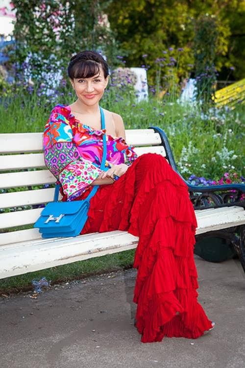 Irina Chaykovskaya - socialite, art critic