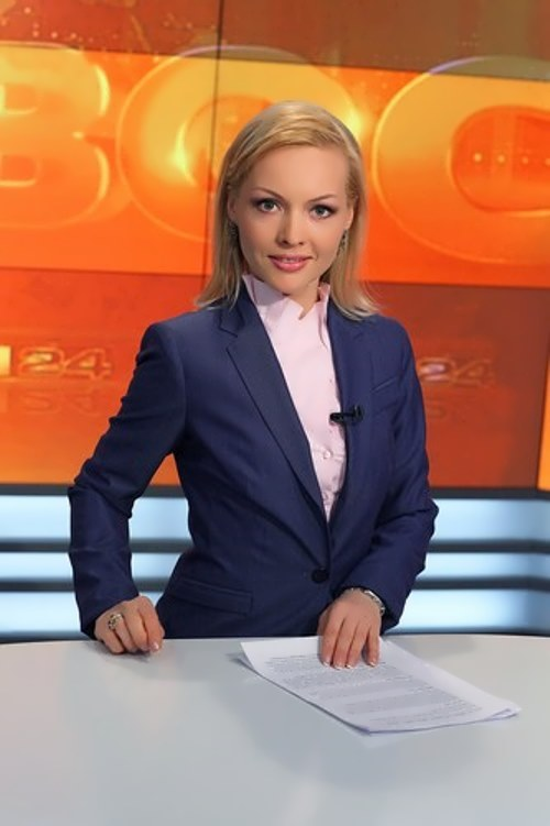 Sashina Irina presenter