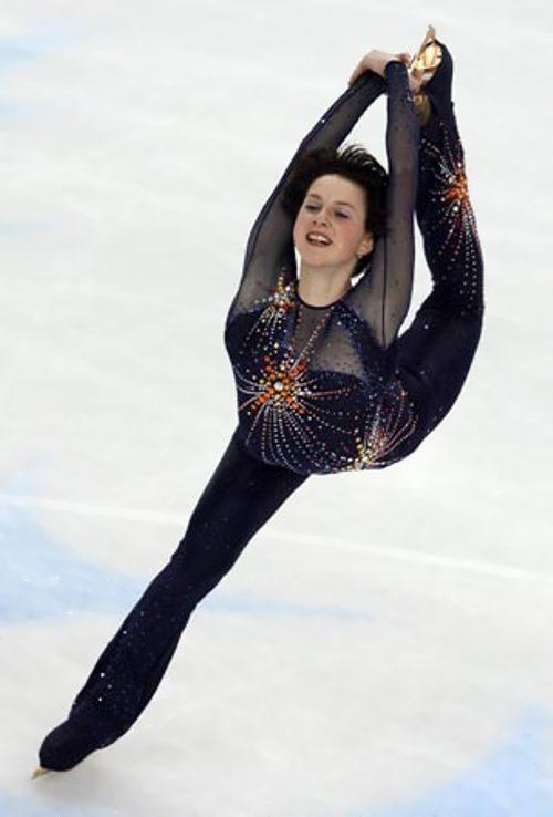 Slutskaya Irina figure skater