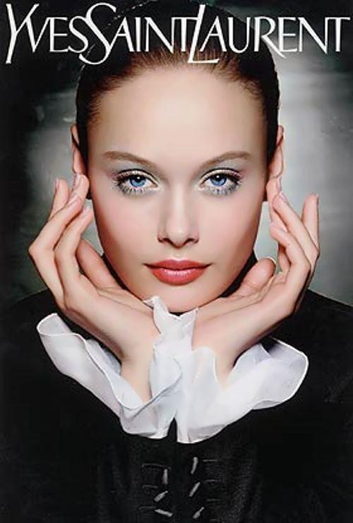 Beautiful Russian model M. Nevskaya