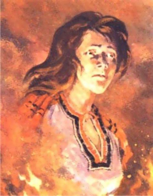 Alena Arzamasskaya - Russian Jeanne d'Arc