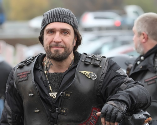 Alexander Surgeon Zaldostanov best known Russian biker
