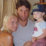 Kovalchuk, his wife and son