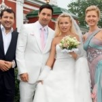Ilya Kovalchuk and his wife Nicole Ambrazaytis