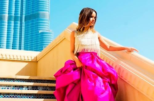 Miroslava Duma, fashion girl