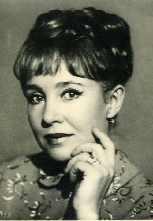 Nadezhda Rumyantseva, Soviet - Russian actress