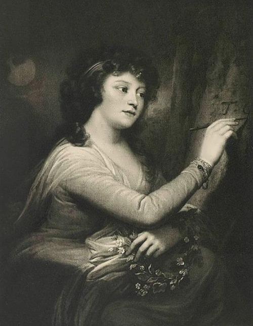 Josef Grassi. Portrait of Praskovya Yurevna Gagarina