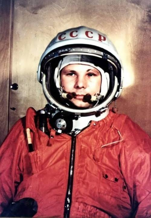 Gagarin Yuri first man in space