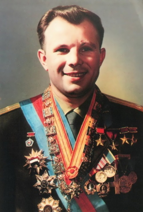 Gagarin - the first man who conquered space