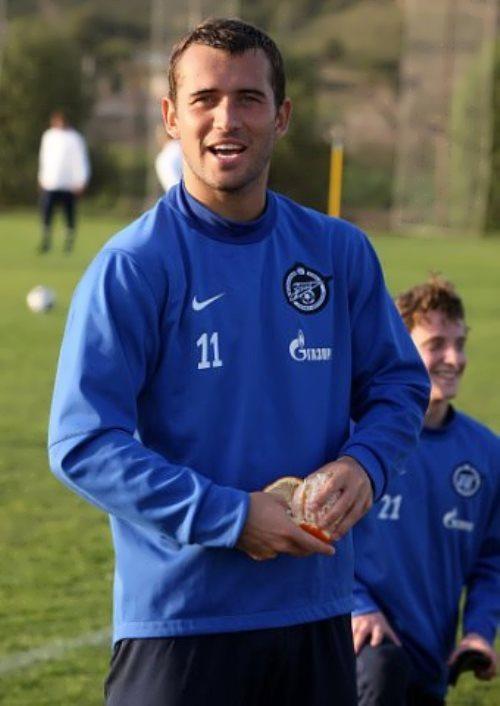 Kerzhakov Alexander footballer
