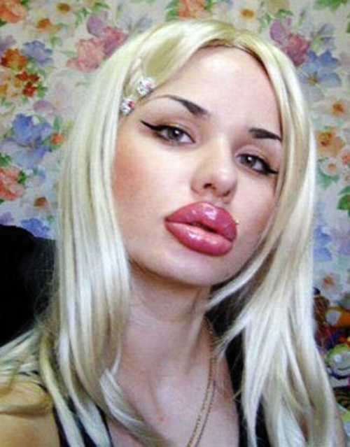 Кristinа Rei – World's Biggest Lips