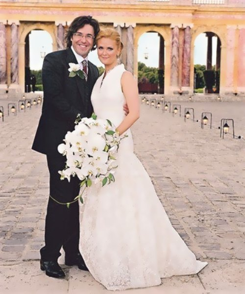 Malakhov and his wife Natalia Shkuleva