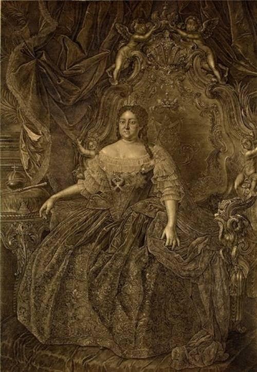 Romanova Anna ruler of Russia