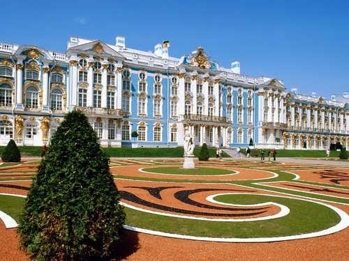 Catherine Palace in Tsarskoe Selo