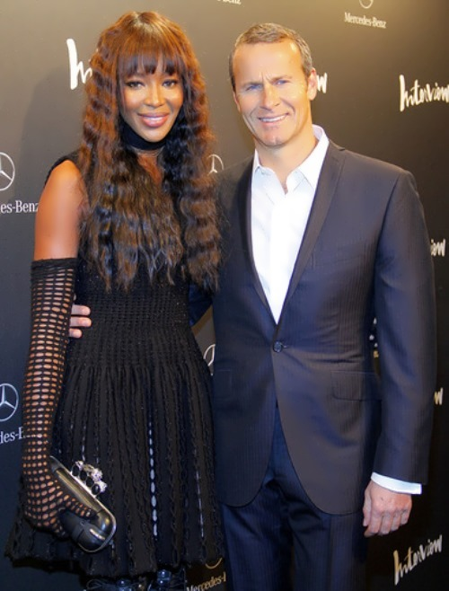 Vlad Doronin and Naomi Campbell