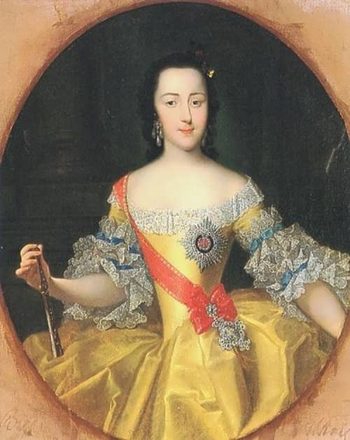 George Christoph Grooth. Empress Catherine the Great