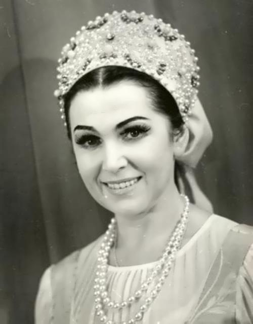 Vishnevskaya Galina opera singer