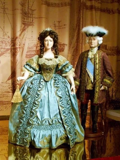 Anna Ioanovna and Ernst Johann Biron