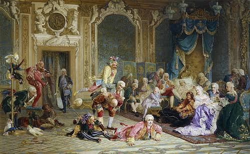 Valery Jacobi. Crude court entertainments of Empress Anna
