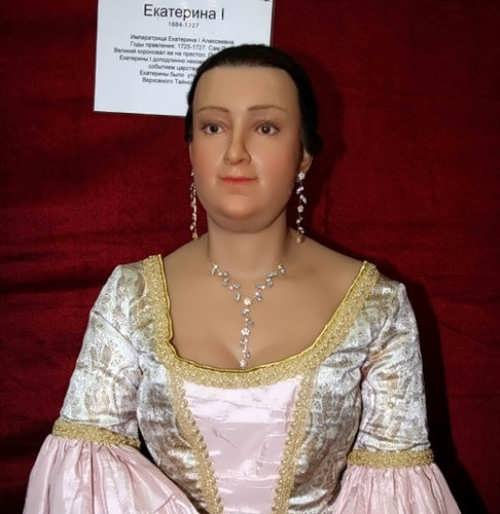Wax figure of Catherine I