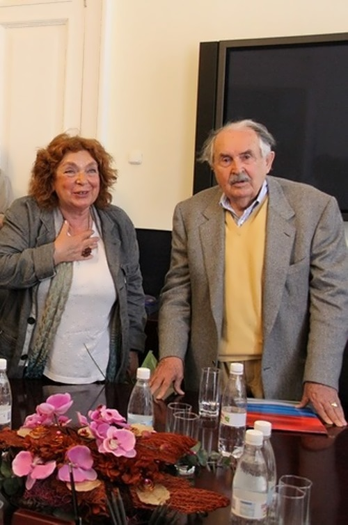 Eleonora and Tonino Guerra