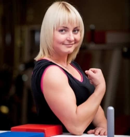 Olga Gavrilova, World Arm Wrestling Champion