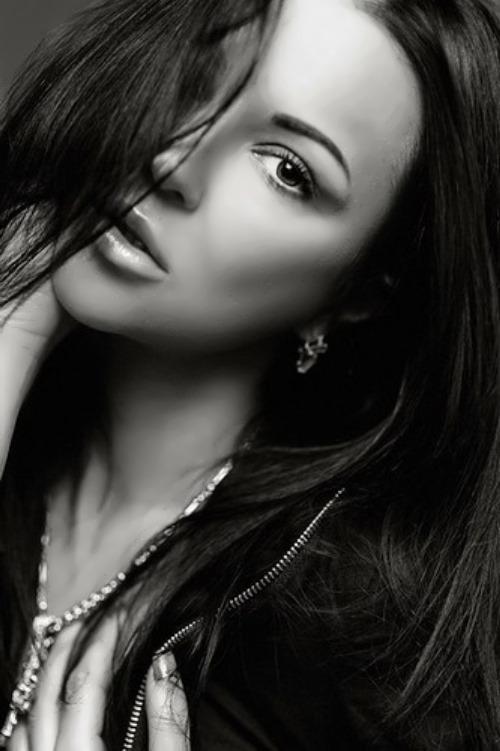 Beautiful Russian make up artist - Olga Pristash