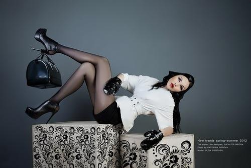 Neva Banks. Master Yulia Polyakova. Photo by Katerina Popova. Model Olga Pristash