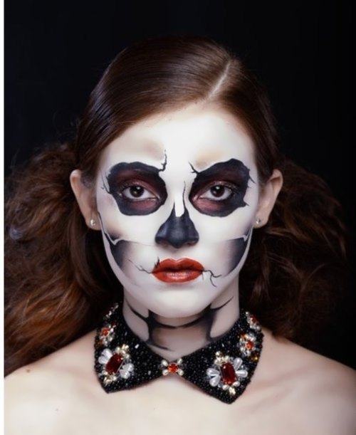 Happy Halloween from Russian makeup artist O. Pristash
