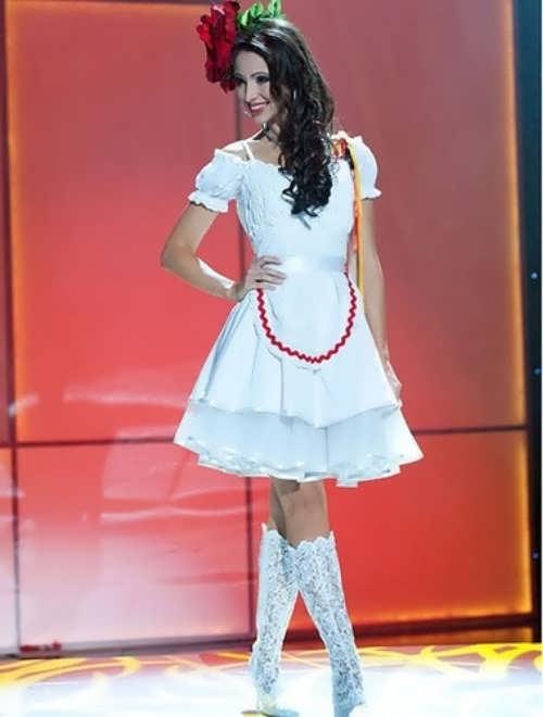 Valeria Bystritskaia - Miss Germany 2011