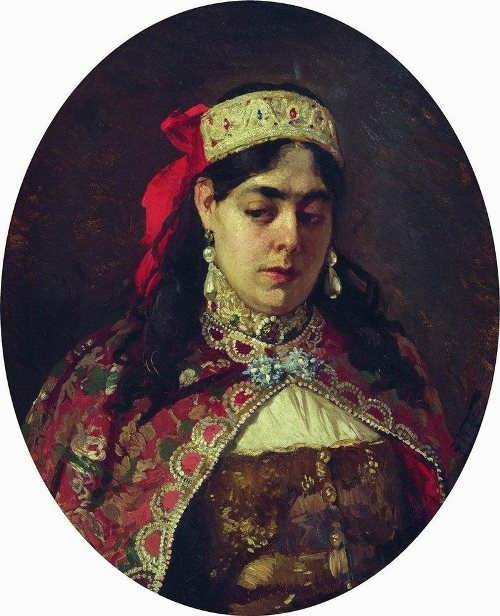Makovsky. Portrait of Sofia