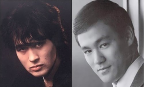 Viktor Tsoi and Bruce Lee