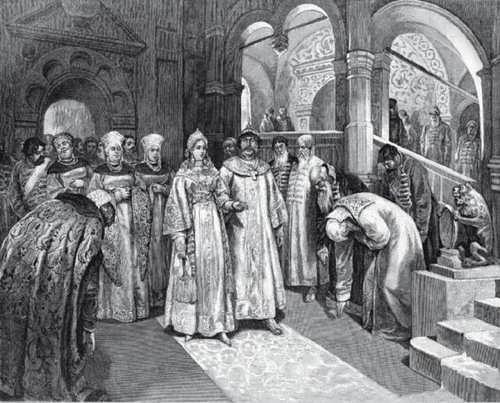 Glinskaya Elena regent of Russia