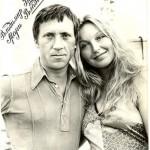 Attractive Marina Vlady and Vladimir