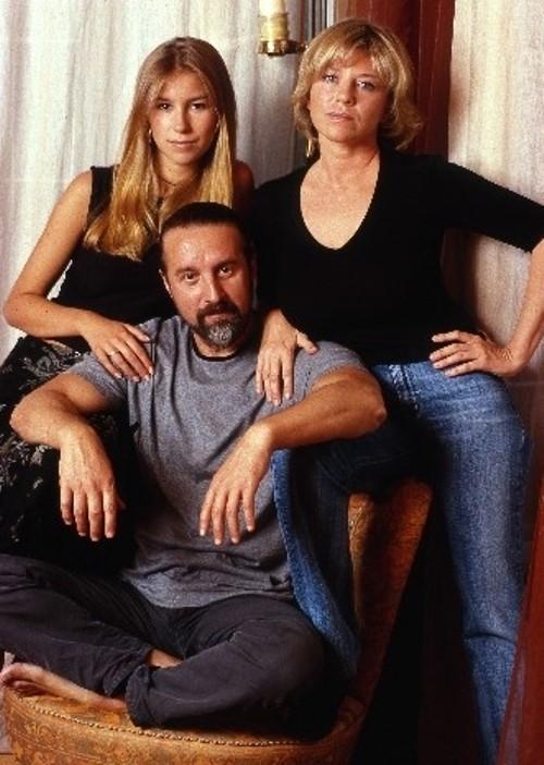 Oksana Afanasieva, Leonid Yarmolnik and daughter
