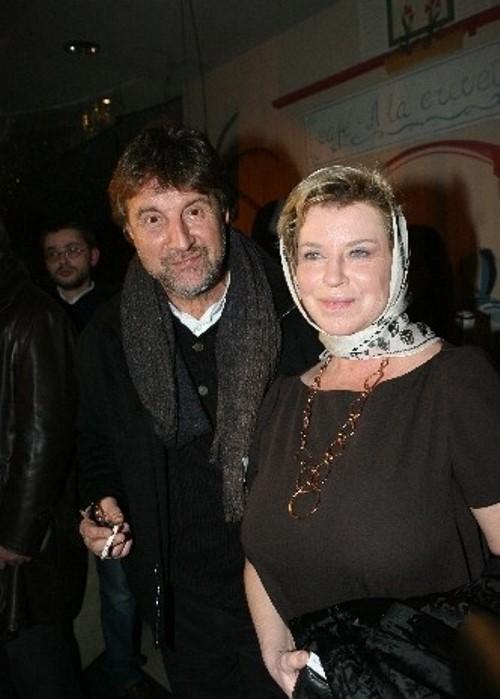 Oksana Afanasieva and Leonid